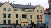 During cleaning of Ulster Bank, Fermoy by Pro Wash, Cork, Ireland